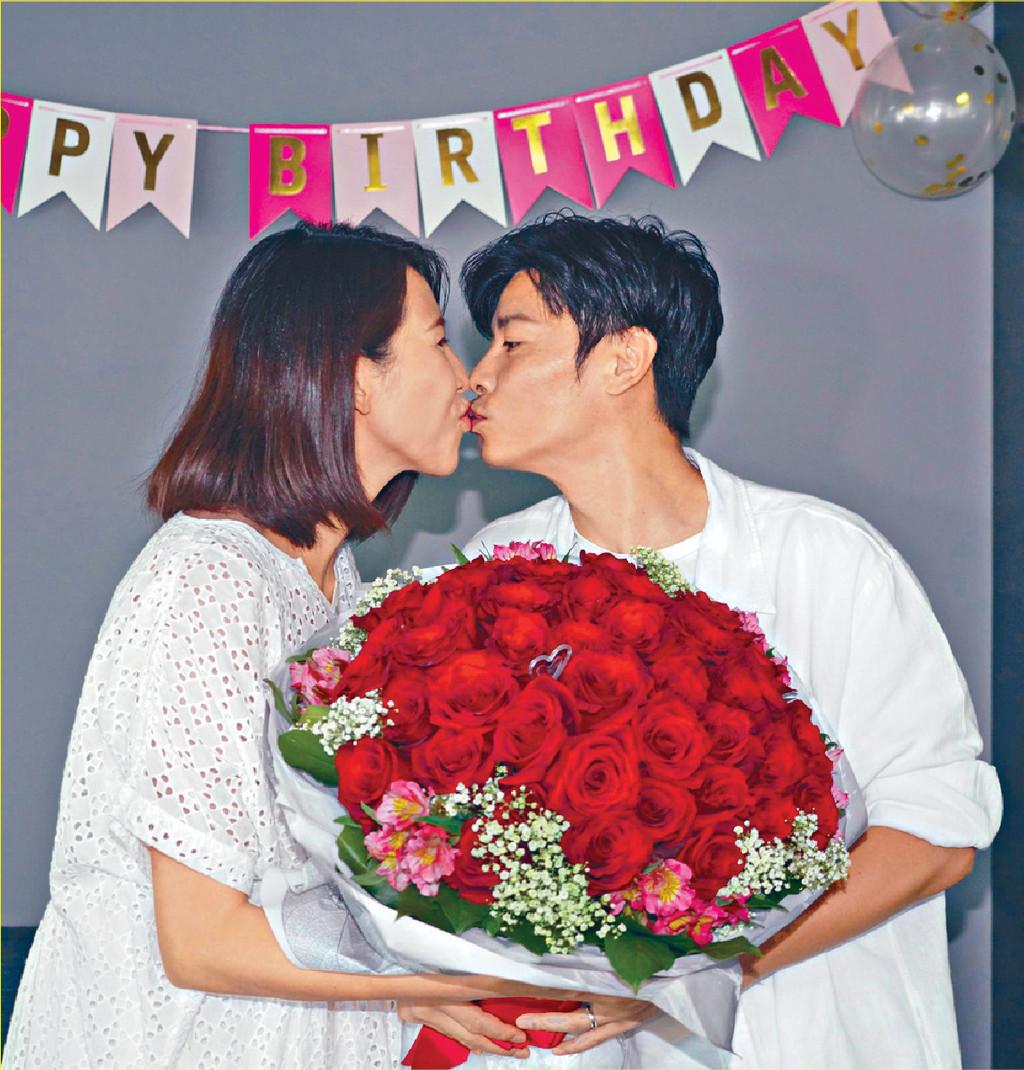■9月時,張晉特別為Ada舉辦了生日派對,認真恩愛。