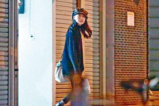 戶田惠梨香被拍到與劇中拍檔松下洸平飯局,表現得相當高興。