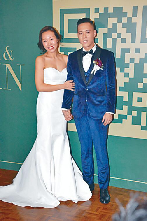 ■今年9月,阿芝同拍拖三個月的男友結婚。