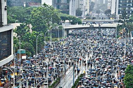 ■示威活動確實影響標普在部分領域對香港的評估,但現時未見有大規模撤出香港的意圖。