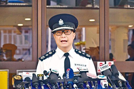 ■一哥鄧炳強提醒勿作出暴力或干擾選民投票行為。