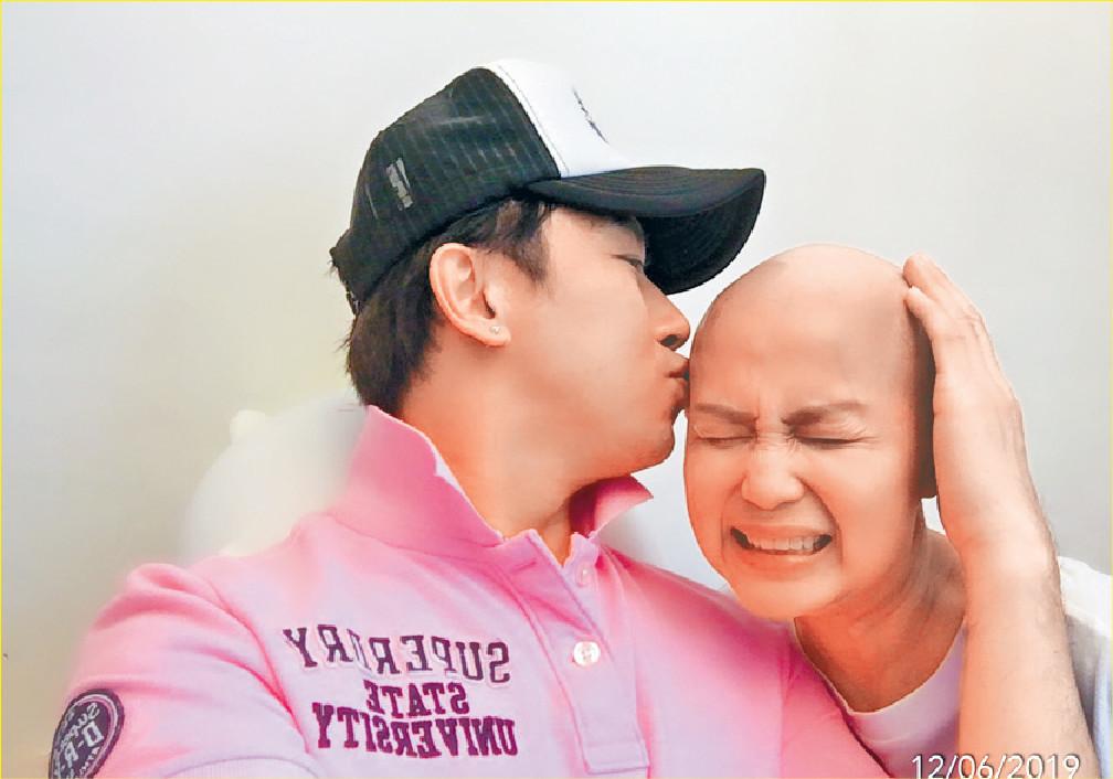 ■林子博的太太患上罕見癌症。資料圖片