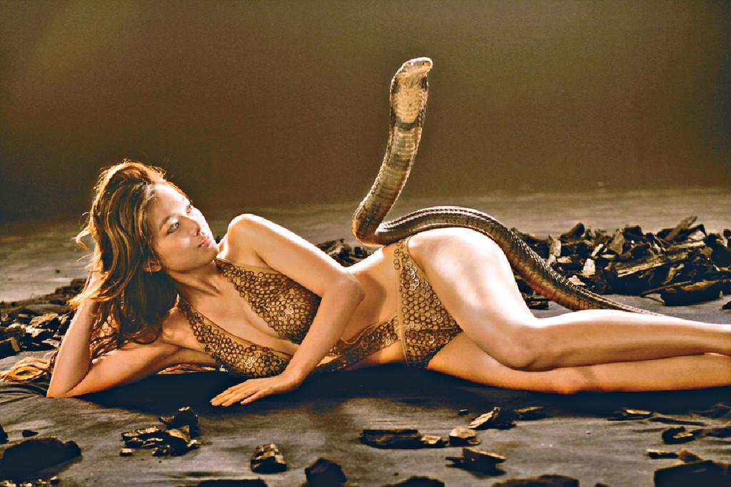 ■李珊珊05年拍攝的性感廣告,令粉絲留下深刻印象。資料圖片