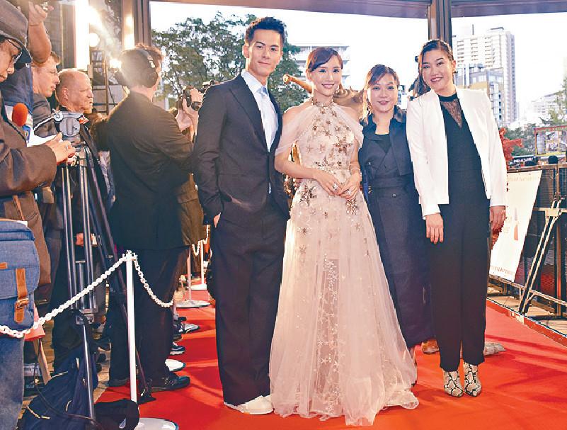 ■電影成為東京國際電影節開幕電影,DaDa和陸以心跟朱鑑然等齊齊行紅地毯。