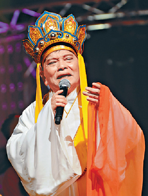 ■鄭錦昌在2012年在港舉行《輝煌歲月演唱會》。