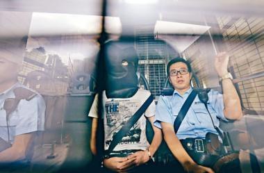 ■香港民族陣綫成員盧溢燊涉在荃灣工廈藏有TATP被捕。