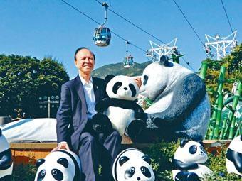 ■海洋公園行政總裁李繩宗將於明年中退休。