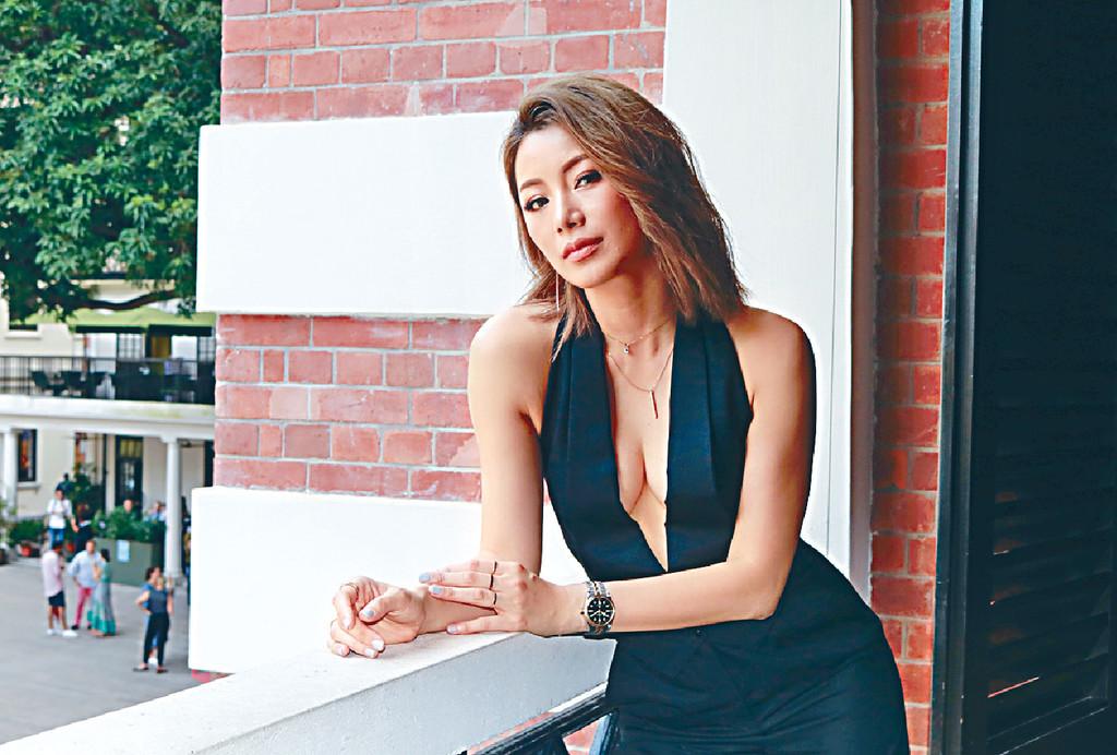 ■入行前是模特兒的楊柳青,經常試不同造型。