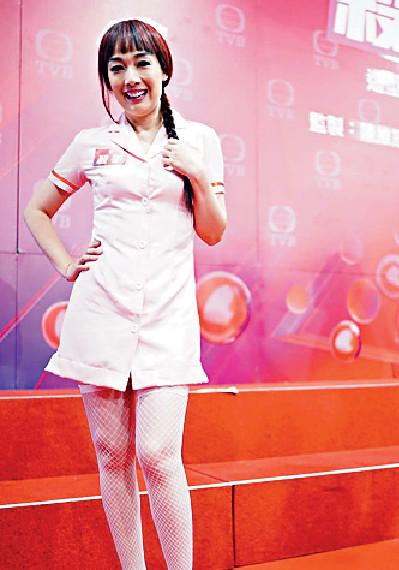 ■今年同TVB轉一年一Show,轉約前拍最後一個劇《殺手》扮一樓一鳳的鳳姐。