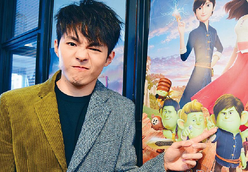 ■陳卓賢話戲中的肥仔王子,不論外形、面型、身型及髮形都有啲似他。
