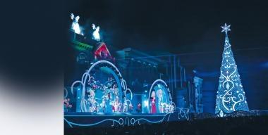 日本冬季限定  環球水晶聖誕
