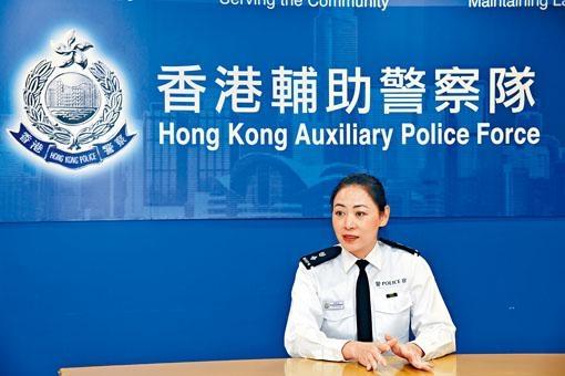 輔警支援課高級警司謝翠恩表示,今年下半年投考輔警人數飆升。