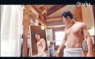 韓國型男排隊露肉 朴海鎮自誇「完美無瑕」