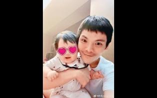 向佐呂方網晒寶貝女靚樣 Chilam囝囝火柴長腿搶眼