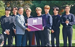 BTS獲任命總統特使  9月出席聯合國大會