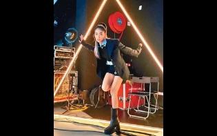 躍登美國時代廣場巨幕  陳凱詠:好似發夢咁!