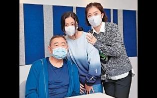 劉鑾雄70歲生日 乖女劉秀樺鮮花蛋糕賀壽