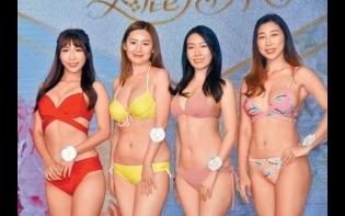 亞姐泳裝面試湧現騎呢佳麗  18歲甘穎怡撼46歲胡春梅