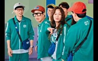 《RM》湊《魷魚》熱潮  成員還原劇中角色被讚