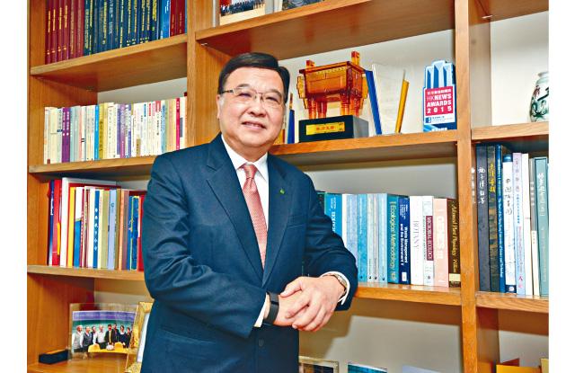 公開大學校長黃玉山教授表示公大正積極拓展有關護理及健康的課程,以培育更多護理專才,應付本港未來人口老化帶來的問題。
